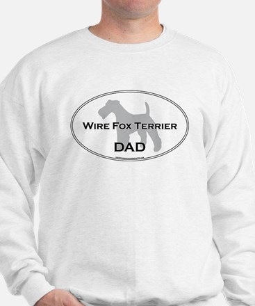 Wire Fox Terrier DAD Sweatshirt