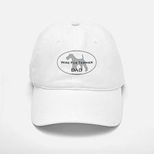 Wire Fox Terrier DAD Baseball Baseball Cap