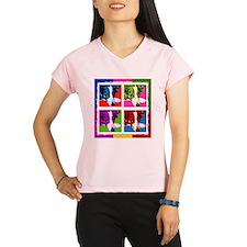 Border Collie Pop Art Performance Dry T-Shirt