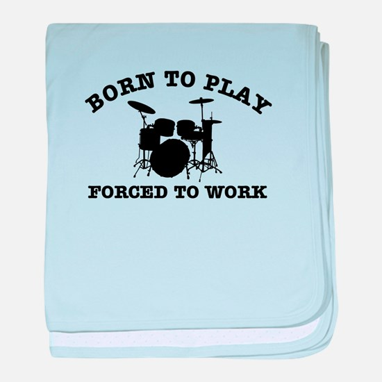 Cool Drums gift items baby blanket