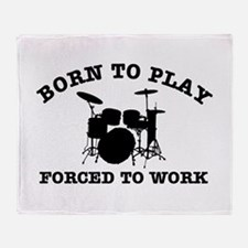 Cool Drums gift items Throw Blanket