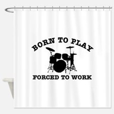 Cool Drums gift items Shower Curtain