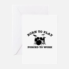Cool Drums gift items Greeting Cards (Pk of 10)