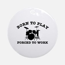 Cool Drums gift items Ornament (Round)