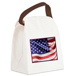 Old Glory Today Canvas Lunch Bag