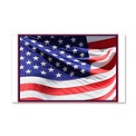 Old Glory Today Car Magnet 20 x 12