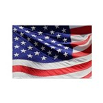Old Glory Today Rectangle Magnet (100 pack)