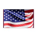 Old Glory Today 20x12 Wall Decal