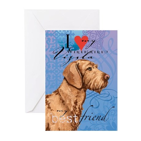 Wirehaired Vizsla Greeting Cards (Pk of 10)