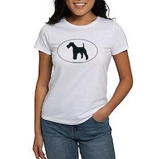 Wire Fox Terrier Silhouette Tee