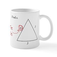 Find X. Problem Solved Mug