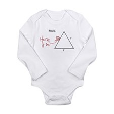 Find X. Problem Solved Long Sleeve Infant Bodysuit