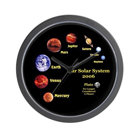 Solor System Wall Clock