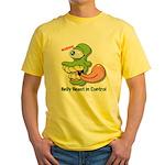 Belly Beast Yellow T-Shirt