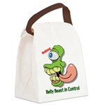 Belly Beast Canvas Lunch Bag