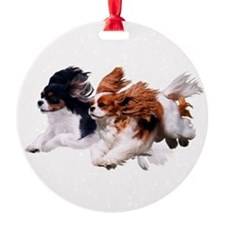 Lily & Rosie, Running Ornament