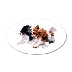 Lily & Rosie, Running Wall Decal