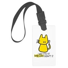 MEOW.png Luggage Tag