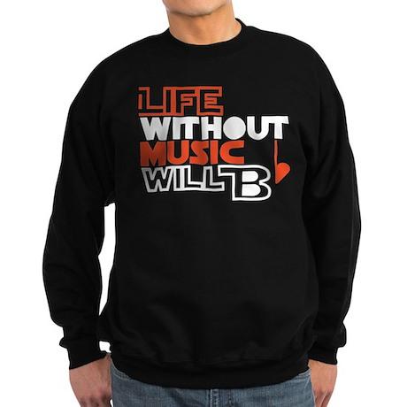 B flat Sweatshirt (dark)