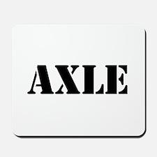 Axle Mousepad