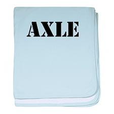 Axle baby blanket