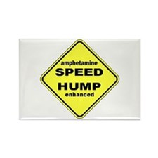 SPEED HUMP Rectangle Magnet