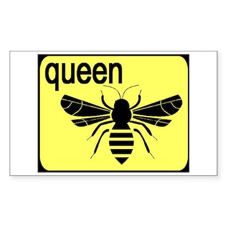 BEE Rectangle Sticker