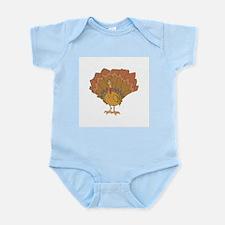 Silly Turkey Infant Creeper
