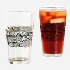 Concrete Vegas Drinking Glass