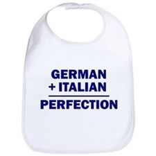 Italian + German Bib