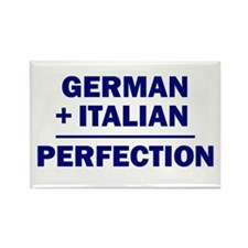 Italian + German Rectangle Magnet (10 pack)