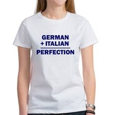 Italian + German Tee
