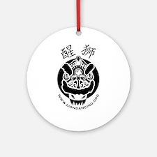 Liondancing.org Logo Ornament (Round)