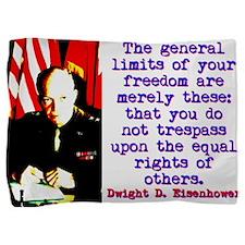 The General Limits - Dwight Eisenhower Pillow Sham