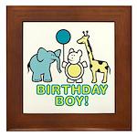 Birthday Boy Framed Tile