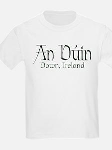 County Down (Gaelic) Kids T-Shirt