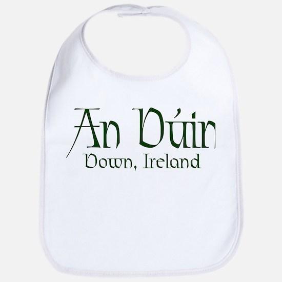 County Down (Gaelic) Bib