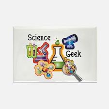 Science Geek Rectangle Magnet
