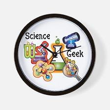 Science Geek Wall Clock