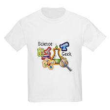 Science Geek Kids T-Shirt