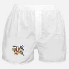 Science Geek Boxer Shorts