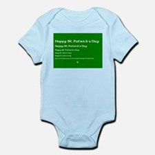 St. Patricks Day - If you can read this.. Infant B