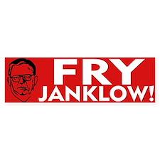 Fry Janklow Bumper Car Sticker