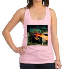 Mutant Dragon Racerback Tank Top