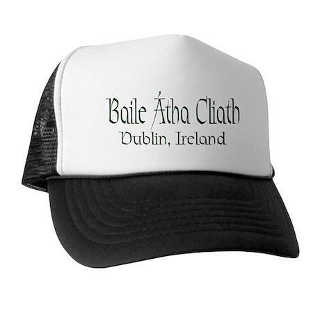 Dublin, Ireland (Gaelic) Trucker Hat