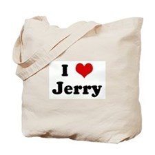 I Love Jerry Tote Bag