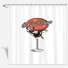 cocktail.png Shower Curtain