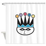 jester.png Shower Curtain