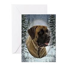 English Mastiff Christmas Cards (Pk of 10)
