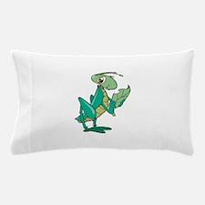 cute grasshopper eating leaf copy.jpg Pillow Case